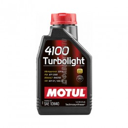 MOTUL  4100 Turbolight  10W40  1л 102774/108644$
