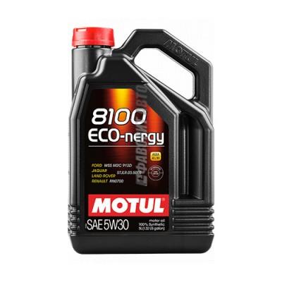 Моторное масло MOTUL 8100 Eco-nergy 5W-30, 5л, синтетическое