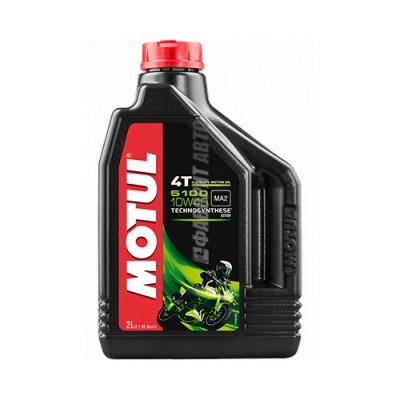 Моторное масло MOTUL 5100 Ester 4T 10W-40, 2л, полусинтетическое