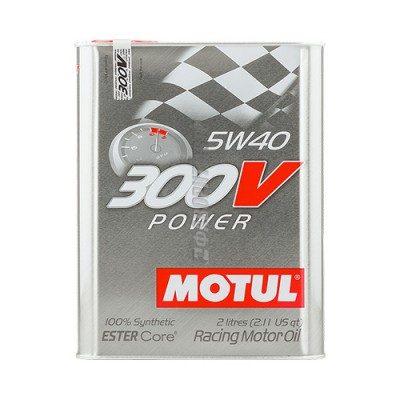 Моторное масло MOTUL 300V Power ESTER Core 5W-40, 2л, синтетическое