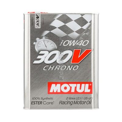 Купить масло MOTUL 300V Chrono 10W-40, 2л, синтетическое