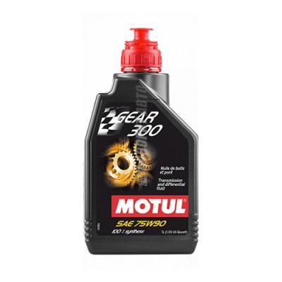 Трансмиссионное масло MOTUL Gear 300 75W-90, 1л, синтетическое