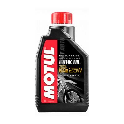 Гидравлическое масло MOTUL Fork Oil very light Factory Line 2,5W, 1л, синтетическое