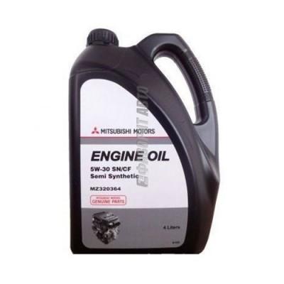Моторное масло MITSUBISHI Engine Oil 5W-30, 4л, полусинтетическое