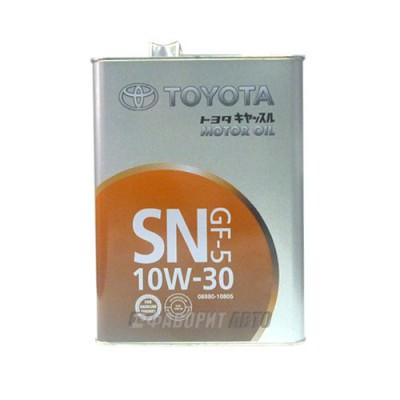 Моторное масло TOYOTA Motor Oil, 4л, минеральное