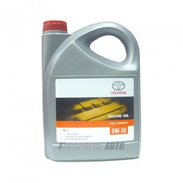 TOYOTA  ENGINE OIL 5W-30, 5л  (0888080845) син.Бельгия
