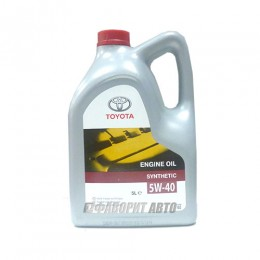 TOYOTA  ENGINE OIL 5W-40, 5л  (0888080375) син.Италия