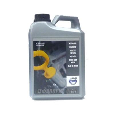 Моторное масло VOLVO MOTOROEL 0W-30, 4л, синтетическое