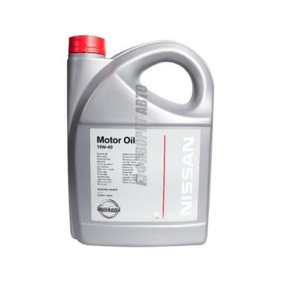 Моторное масло NISSAN Motor Oil 10W-40, 5л, полусинтетическое