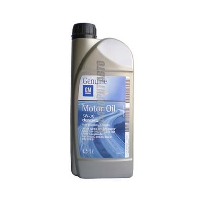Моторное масло GM Motor Oil 5W-30 Dexos 2, 1л, синтетическое
