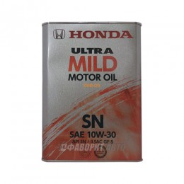 HONDA  ULTRA MILD SN 10W-30  4л   (0821999974) Япония