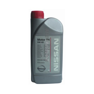 Моторное масло NISSAN Motor Oil 5W-40, 1л, синтетическое