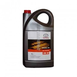 TOYOTA  ENGINE OIL 5W-30, 1л  (0888080846) син.Бельгия