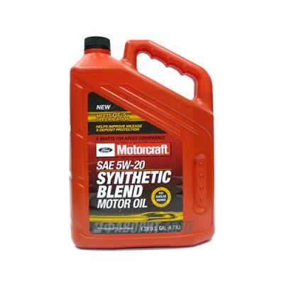 Моторное масло MOTORCRAFT Premium Synthetic Blend Motor Oil 5W-20, 4,73л, синтетическое