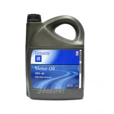 GM  Semi Synthetic 10W-40, 5л 1942046 п/с