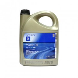 GM Motor Oil 5*30 Dexos2    5л 1942003
