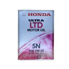 HONDA  Ultra MOTOR OIL LTD-SN 5W-30  4л  (0821899974)