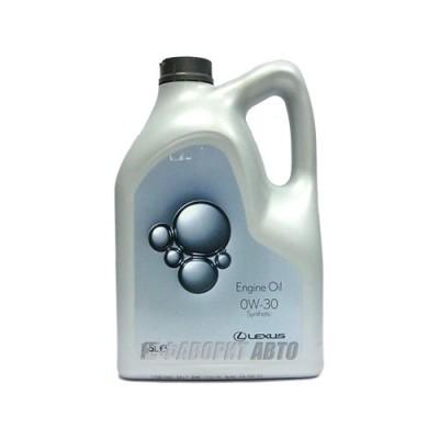 Моторное масло LEXUS 0W-30, 1л, синтетическое