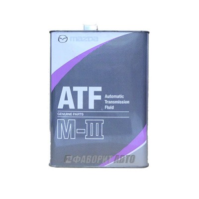 Трансмиссионное масло MAZDA ATF M-III, 4л, минеральное
