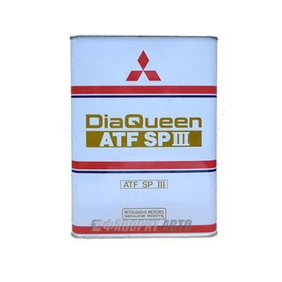Трансмиссионное масло MITSUBISHI ATF SP-III, 4л, полусинтетическое