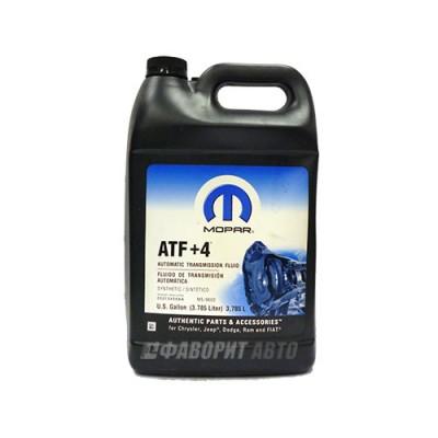 Трансмиссионное масло MOPAR ATF+4, 3,78л, полусинтетическое