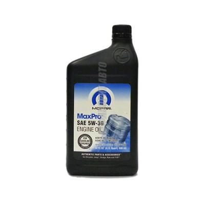 Моторное масло MOPAR Max Pro Chrysler 5W-30, 0,946л, синтетическое