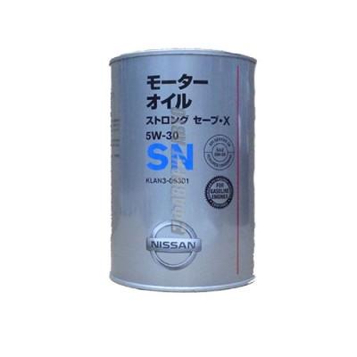 Моторное масло NISSAN SN Strong Save-X 5W-30, 1л, полусинтетическое
