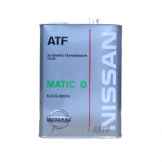 NISSAN  ATF Matic Fluid D, 4л (KLE2200004) мин. Япония