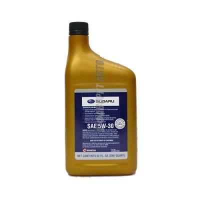 Моторное масло SUBARU 5W-30, 0,946л, синтетическое