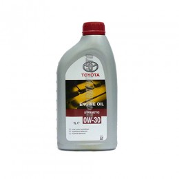 TOYOTA  ENGINE OIL 0W-30, 1л  (0888080366) син.Франция
