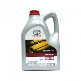 TOYOTA  ENGINE OIL 0W-30, 5л (0888080365) син.Франция