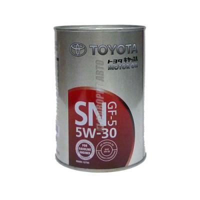 Моторное масло TOYOTA MOTOR OIL 5W-30, 1л, синтетическое