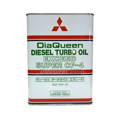 Моторное масло MITSUBISHI Diesel TURBO OIL 10W-30, 4л, полусинтетическое