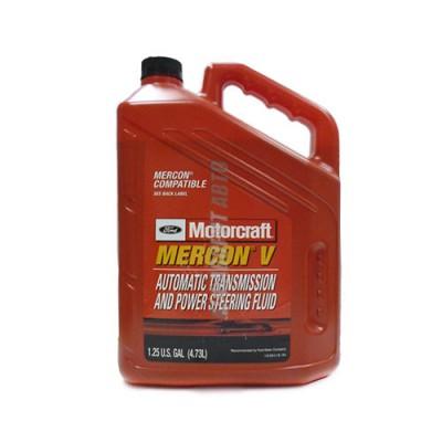 Трансмиссионное масло MOTORCRAFT FORD Mercon V Avtomatic Transmission and Power, 4,73л