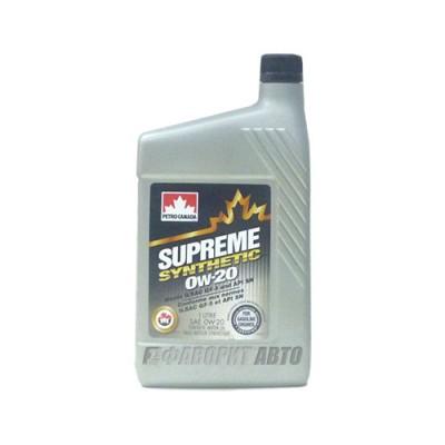 Моторное масло PC Synthetic Motor Oil 0W-20, 1л, синтетическое