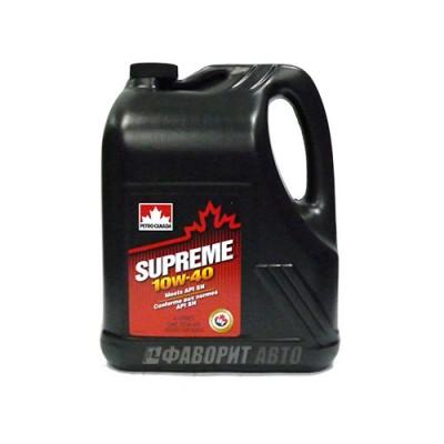 Моторное масло PC SUPREME 10W-40, 4л, полусинтетическое
