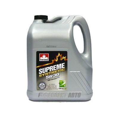 Моторное масло PC SUPREME Synthetic 5W-30, 4л, синтетическое
