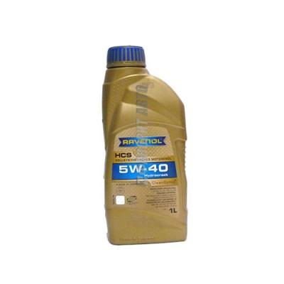 Моторное масло RAVENOL HCS 5W-40, 1л, синтетическое
