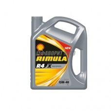SHELL Rimula R4 X 15W40  4л мин