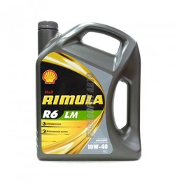 SHELL Rimula R6 LM 10W40   4л син  @