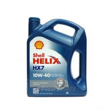 SHELL Helix HX7 10*40   4л синий (PLUS)