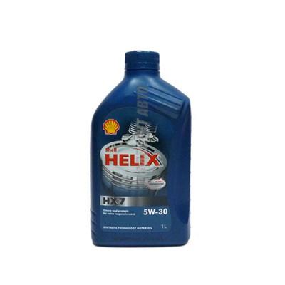 Моторное масло SHELL Helix HX7 5W-30, 1л, полусинтетическое