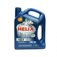 SHELL Helix HX7 5*30   4л п/с синий (Plus)