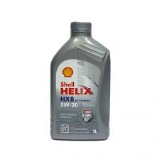 SHELL Helix HX8 5*30   1л синт серый