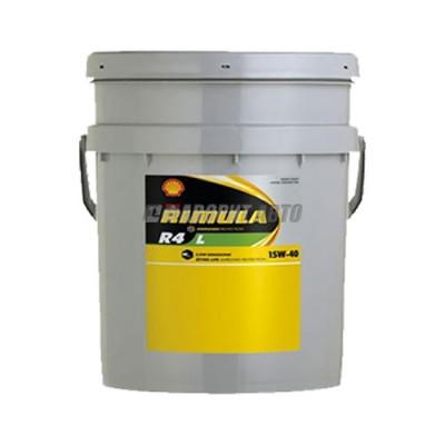 Моторное масло SHELL Rimula R4 L 15W-40, 20л, минеральное