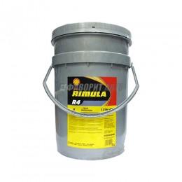 SHELL Rimula R4 X 15W40  20л мин