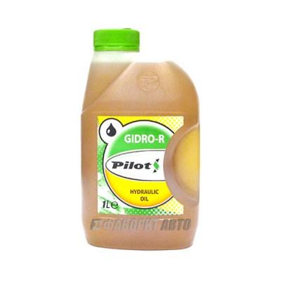 Гидравлическое масло PILOTS марки Р, 1л, минеральное