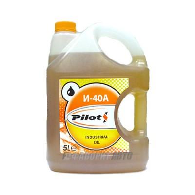 Индустриальное масло PILOTS И-40А, 5л, минеральное