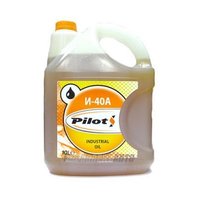 Индустриальное масло PILOTS И-40А, 10л, минеральное