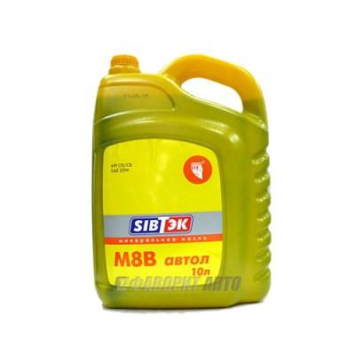 Моторное масло PILOTS М-8В 20W-20, 10л, минеральное